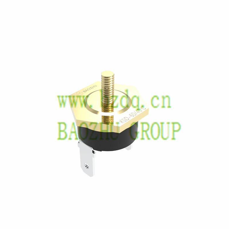 KSD自动复位突调式温控器-螺栓头装配