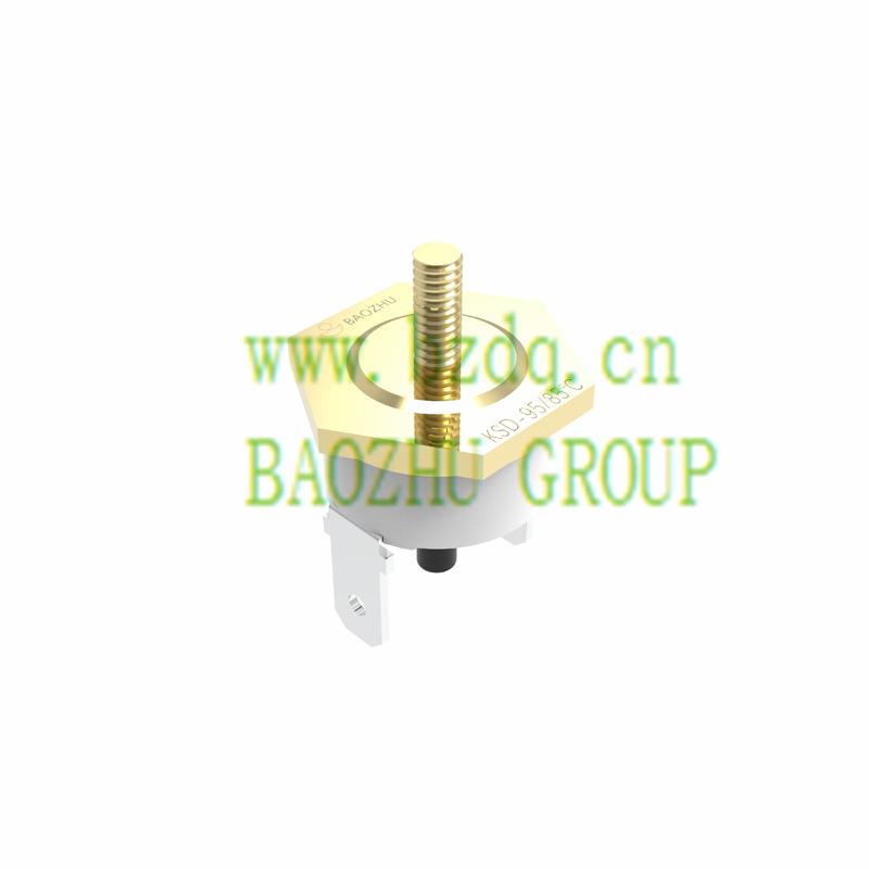 KSD手动复位突调式温控器-螺栓头装配